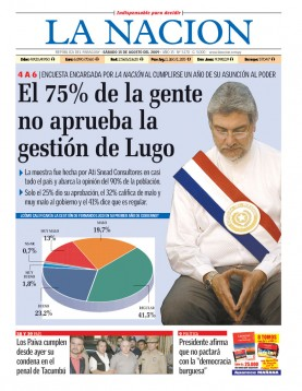 FERNANDO LUGO, AGON�...