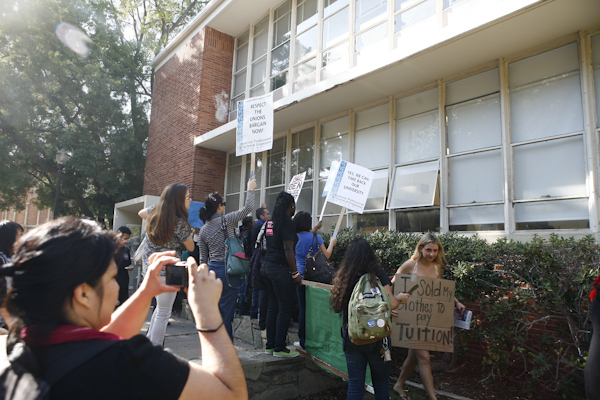 UC Strike - UCLA Nov...