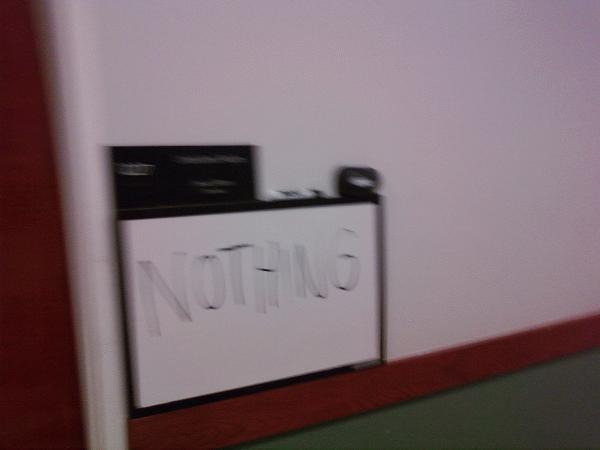 Nothing......