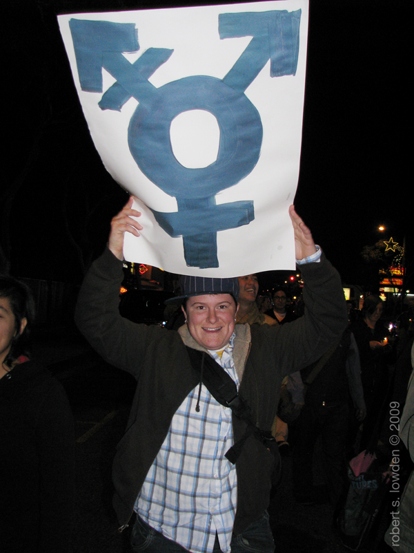 Marcher for Trans Da...