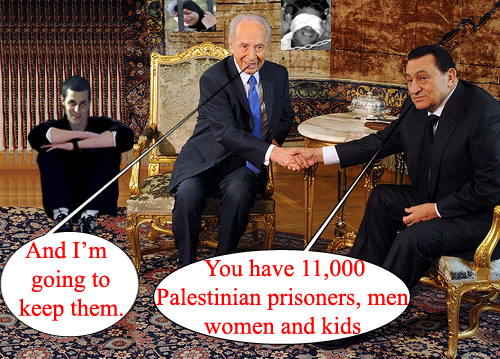 Peres goes to Cairo...