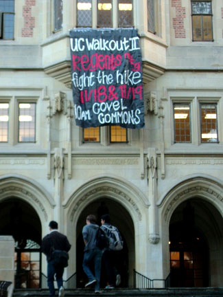 SIgnage from UCLA Pr...