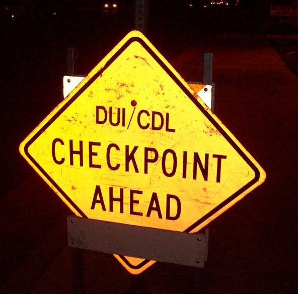 Holiday checkpoints ...
