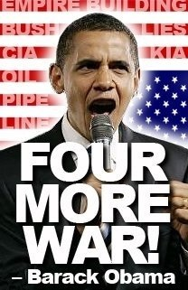 More food for Obama'...