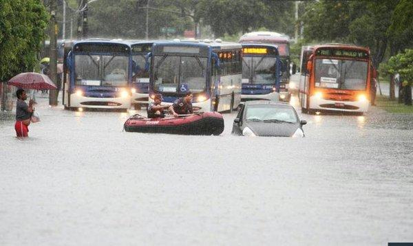 FLOODS IN SÃO PAULO...