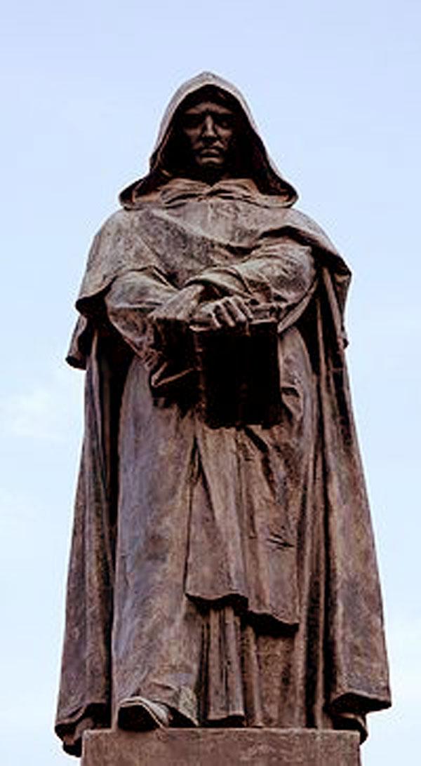 The statue of Giorda...