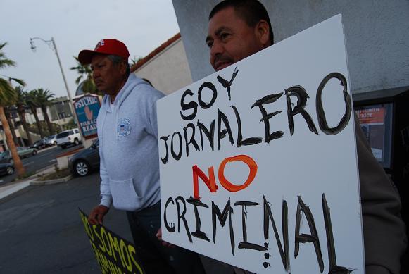 jornalero, no crimin...