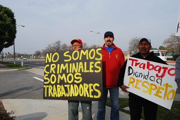 No somos criminales!...