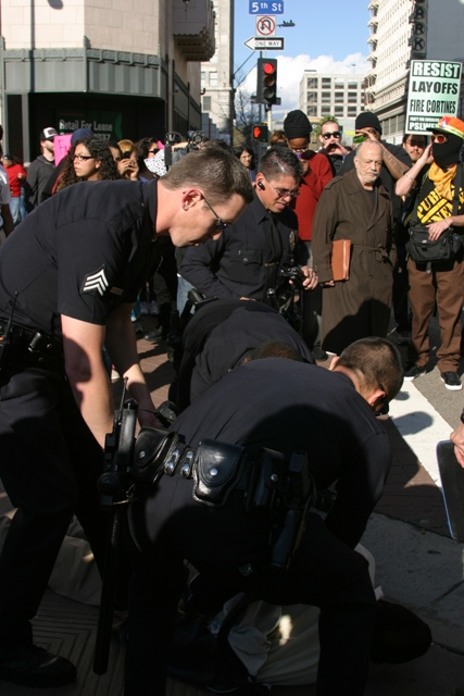 arrest...