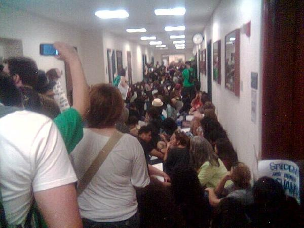 UCLA Students Sit-In...