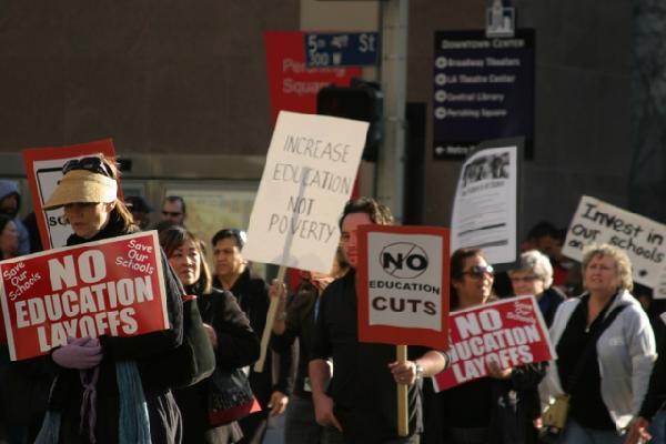 LA Student Protest 4...