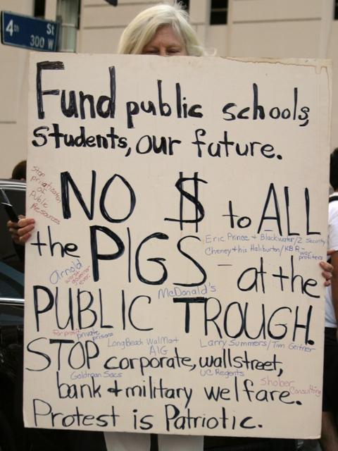 LA Student Protest 8...