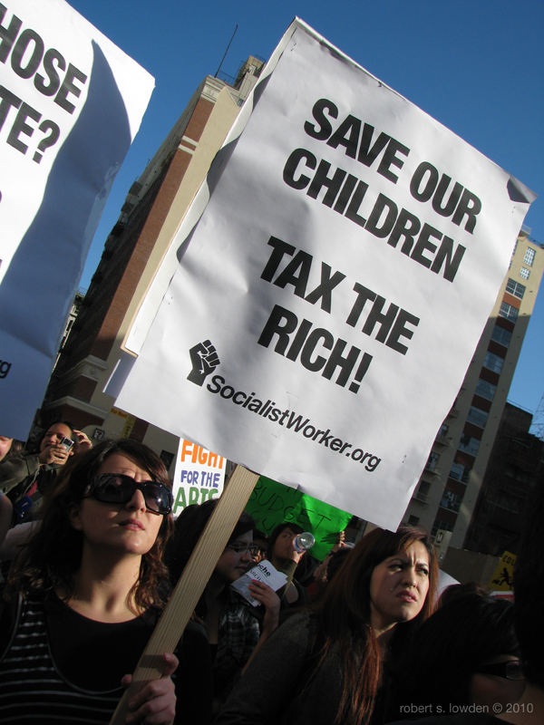 Tax The Rich / March...