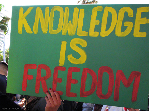 Knowledge is Freedom...