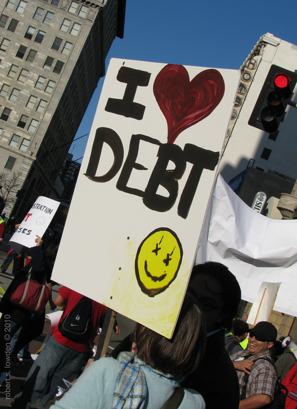 Debt Love/ March 4th...