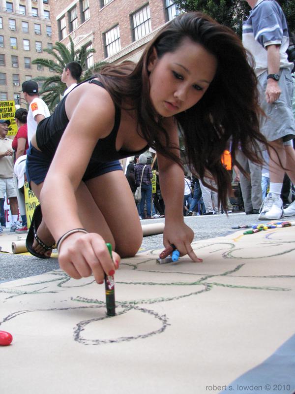 Antiwar Protester Lo...
