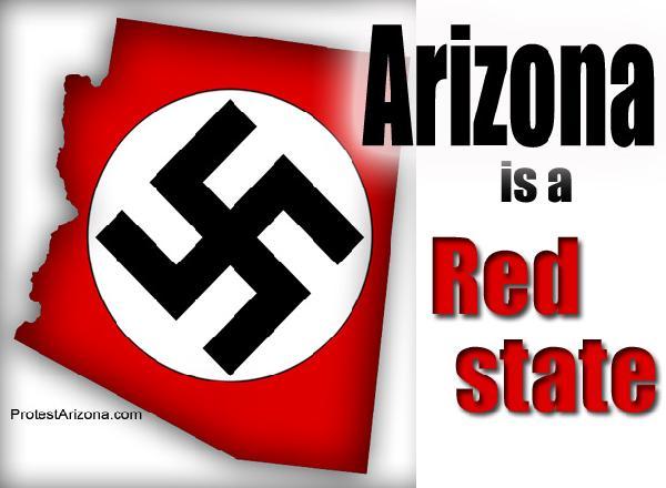 Protest Arizona Jim ...