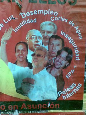 FERNANDO LUGO Y SU E...
