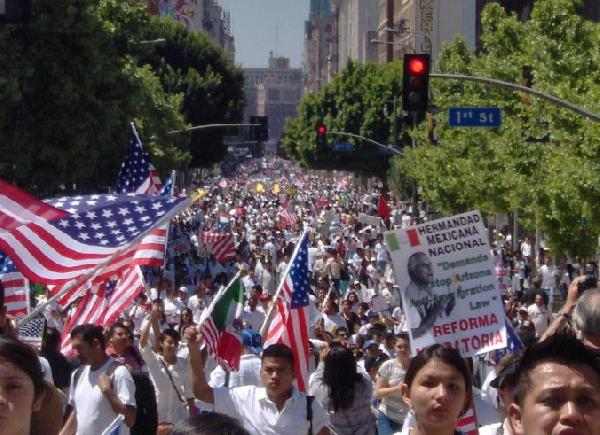 Los Angeles Marches ...