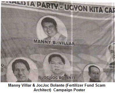 Manny Villar & Jocjo...