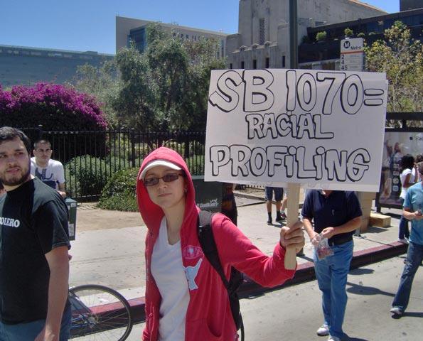 SB 1070 = Racial Pro...