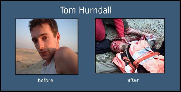 Tom Hurndall...