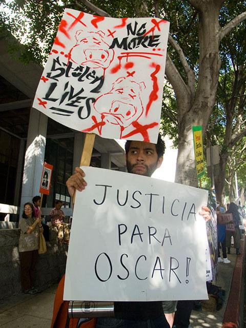 Justicia Para Oscar...