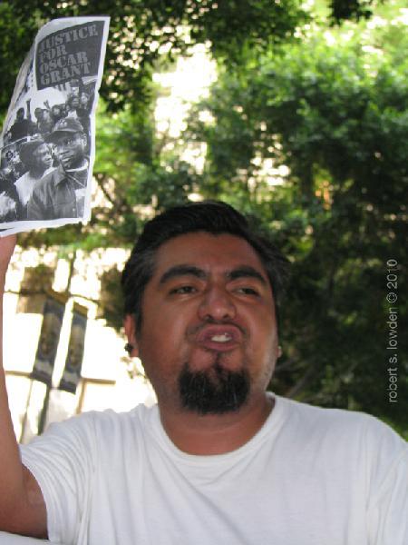 Oscar Grant Proteste...