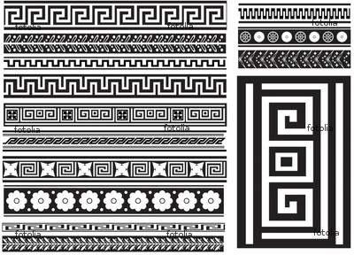 greek patterns...