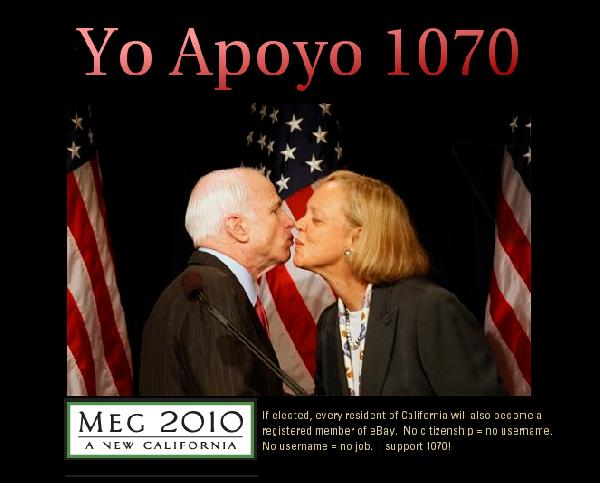 Meg Whitman on 1070...