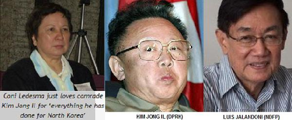 North Koreans celebr...
