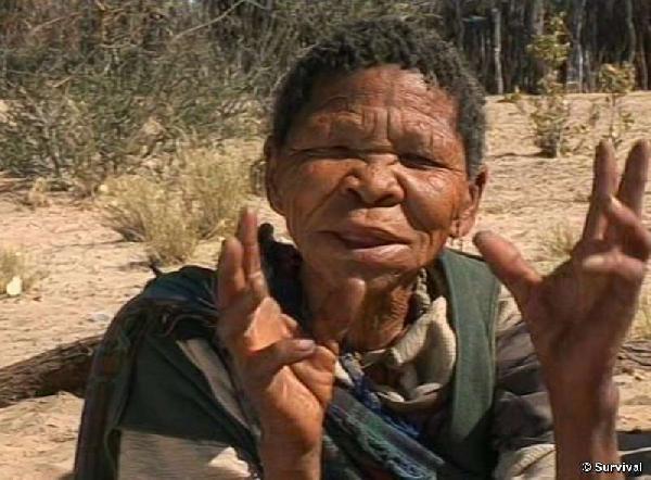 Kalahari Bushman app...