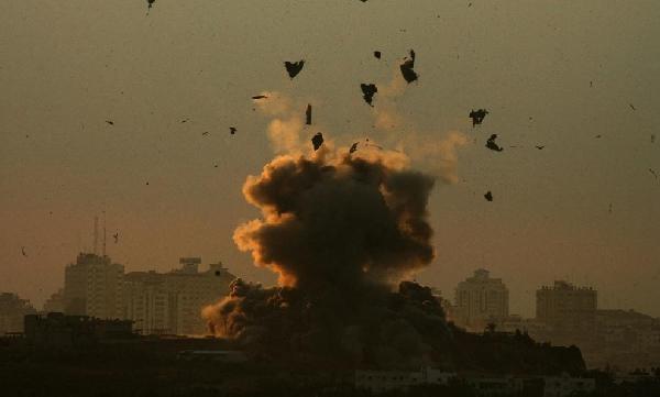 Boom -Gaza...