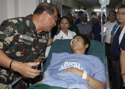 Philippine rebel lea...
