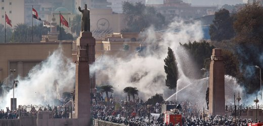 Egypt in flames...
