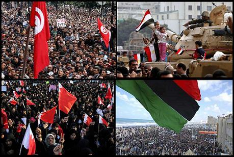 The Arab Revolutions...