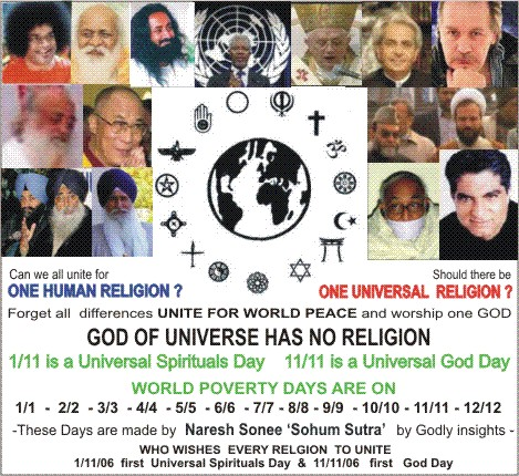 Global Gods Day Nare...