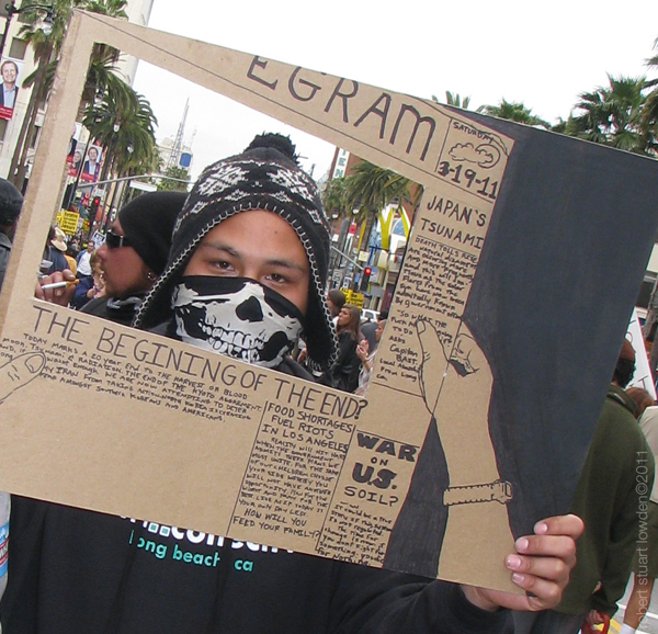 Protester Artist...