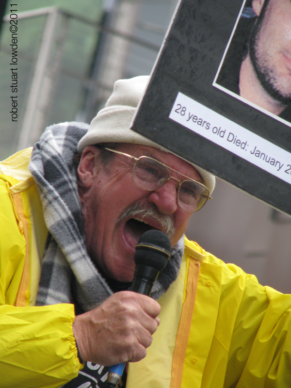 Protester Soldier Fa...