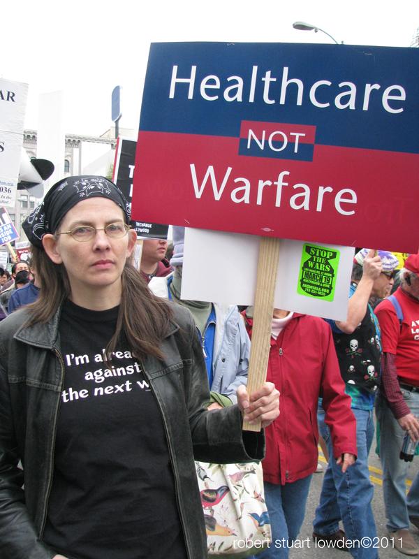 Protester...