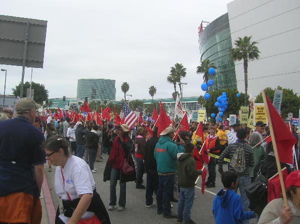Workers of Los Angel...
