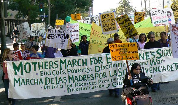 MOTHERS MARCH FOR EV...