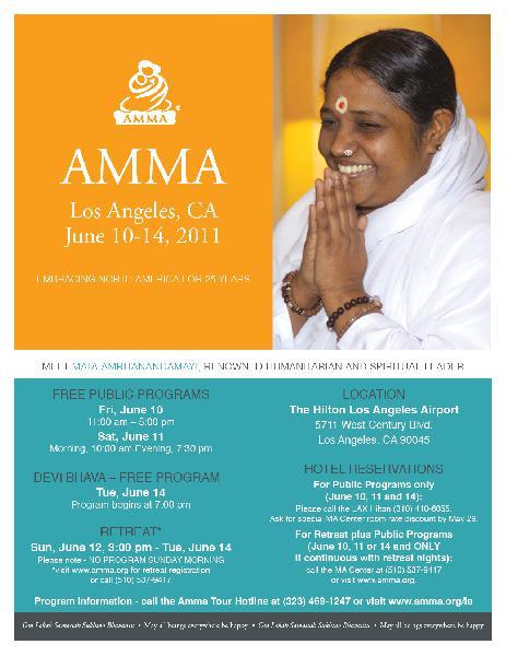 Amma Summer 2011 Los...