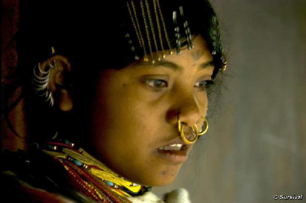 Tribal people are vi...
