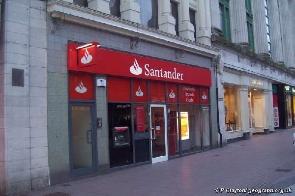 Santander is Europe'...