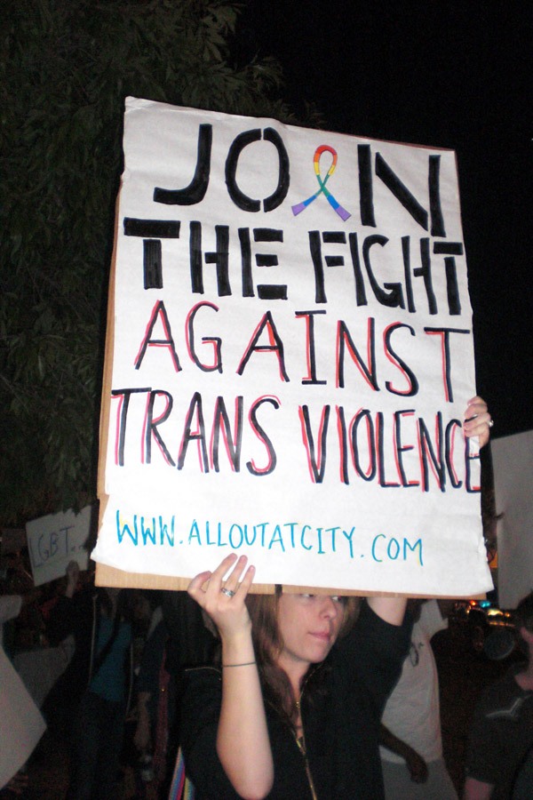 Trans Violence...