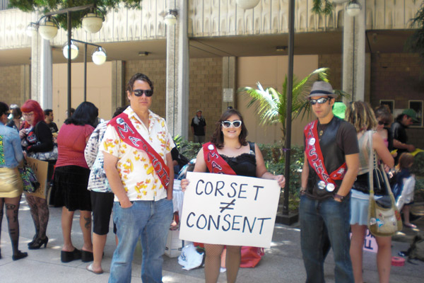 Corset not consent...