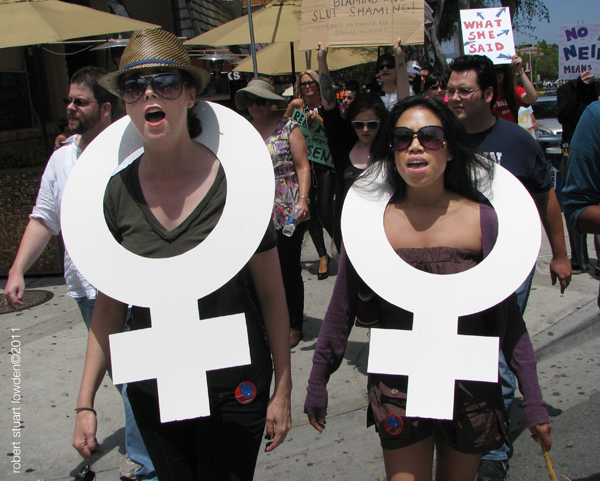 SlutWalk Los Angeles...