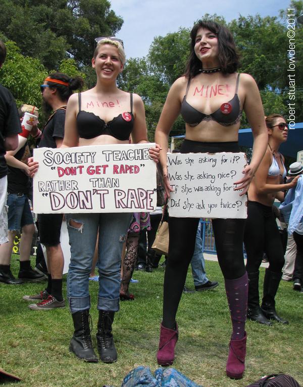 Slutwalk Activists...