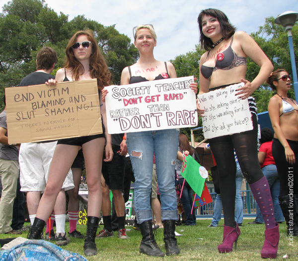 Slutwalk Activists...